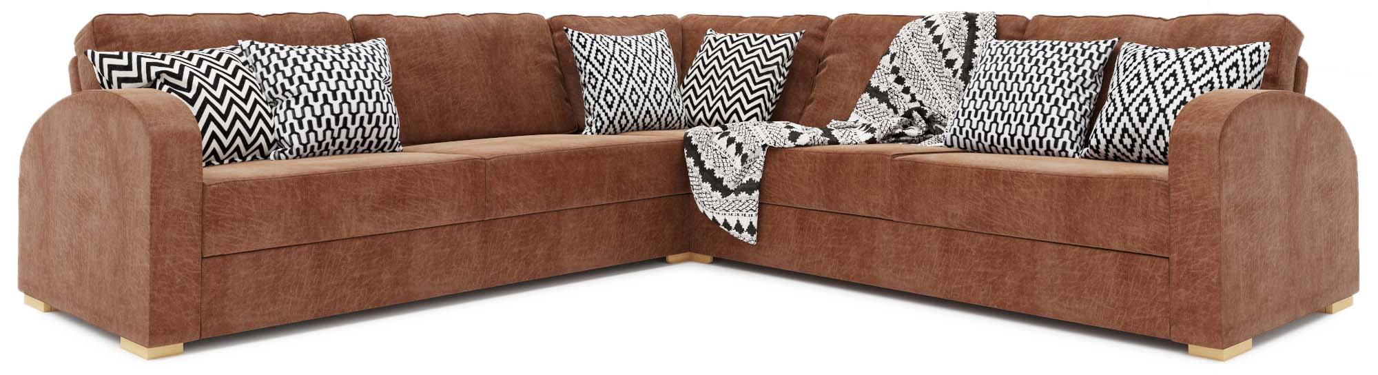 Arc 3X3 Corner Double Sofa Bed
