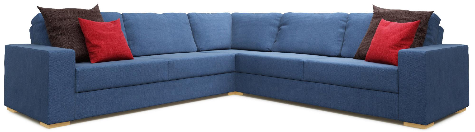 Sui 3X3 Corner Double Sofa Bed