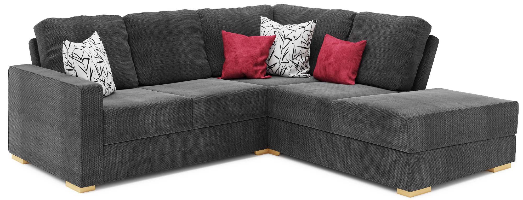 Lear Chaise 3x3 Corner Corner Chaise Sofa Nabru