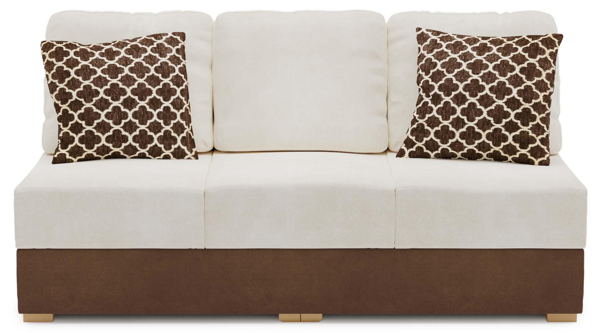 Lear Two Armless 3 Seat Sofa