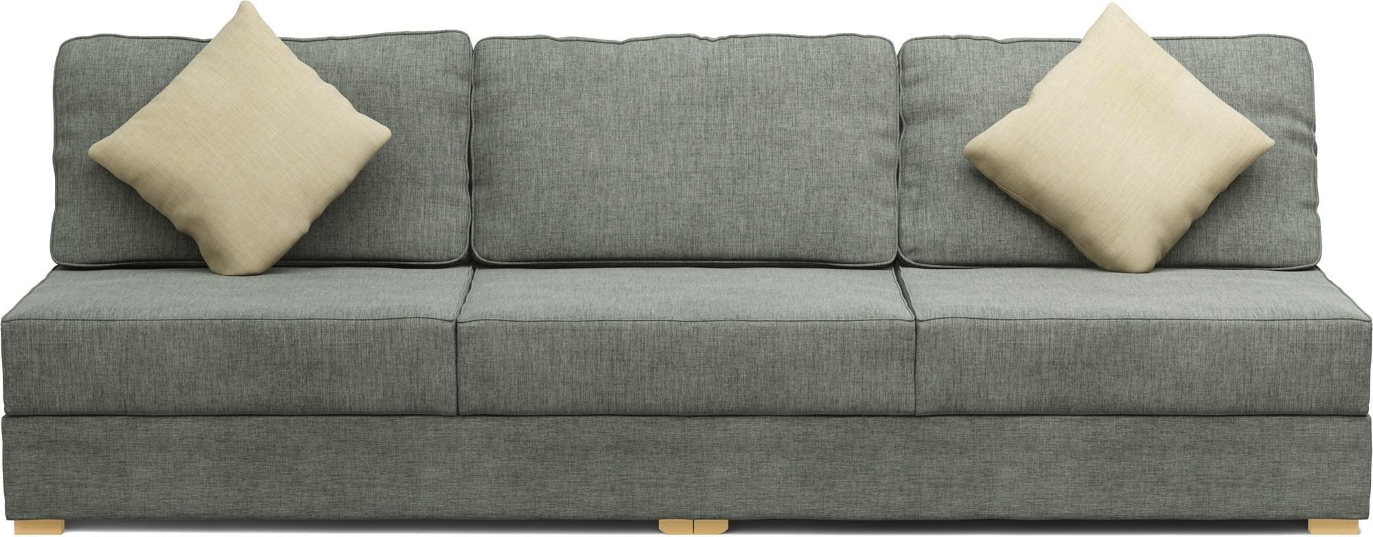 Ula Two Armless 3 Seat Sofa