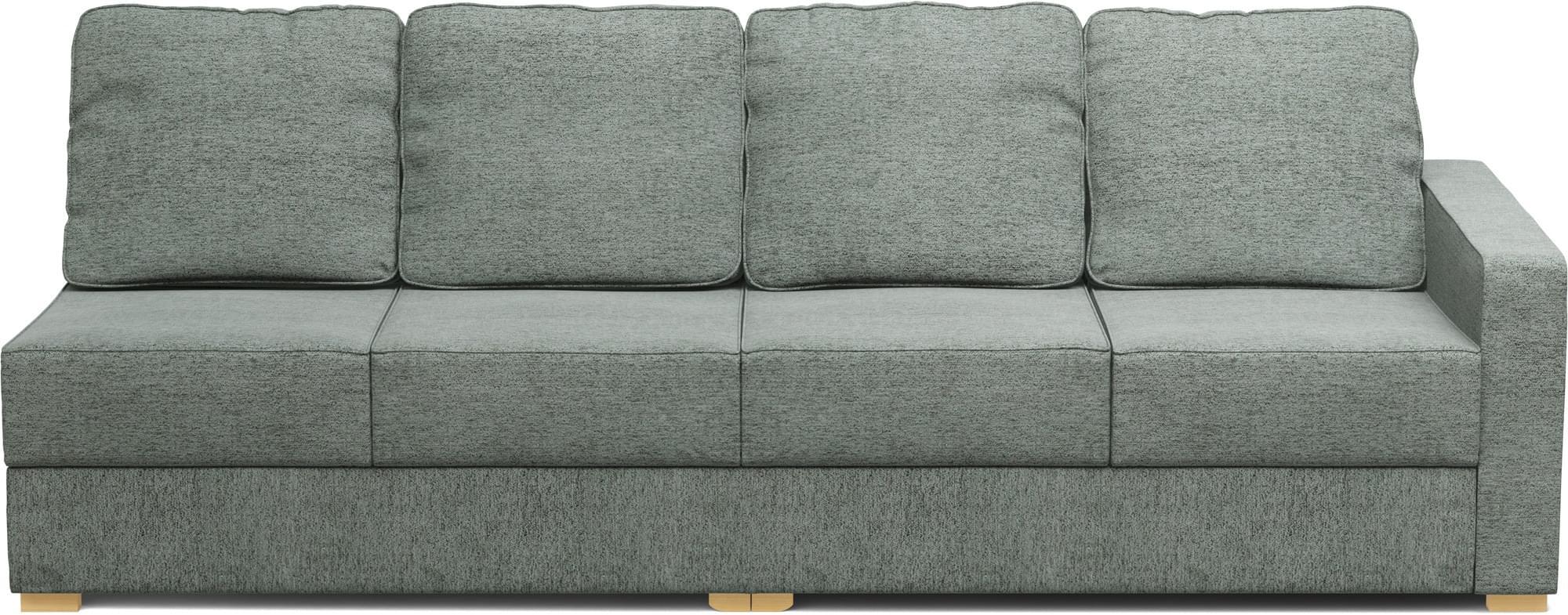 lear 4 seat armless sofa
