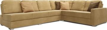 Alda Armless 4X3 Corner Sofa