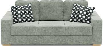 Ato 3 Seat Double Sofa Bed