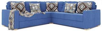 Alda 3X3 Corner Double Sofa Bed