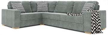 Sui 3X2 Corner Double Sofa Bed