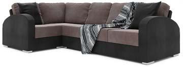 Orb 4x2 Corner Sofa